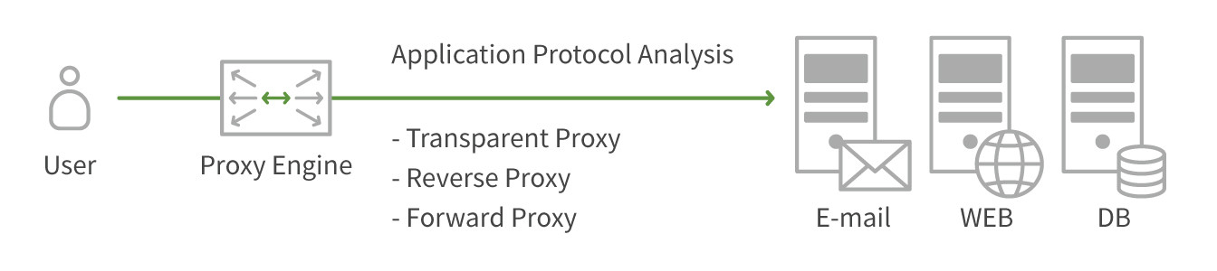 Monitorapp's high-performance proxy graphic